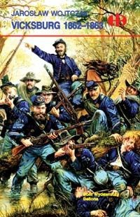 Okładka książki Vicksburg 1862-1863