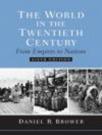 Okładka książki World in the Twentieth Century