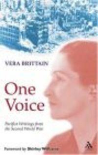 Okładka książki One Voice Pacifist Writings form the Second World War Humili