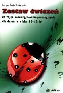 Okładka książki zestaw ćwiczeń do zajęć kor-komp dla dzieci w wieku 10-12 lat
