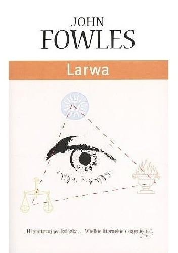Okładka książki Larwa