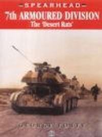 Okładka książki 7th Armoured Division The Desert Rats