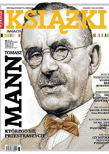 Okładka książki Książki. Magazyn do czytania, nr 4 (15) / grudzień 2014