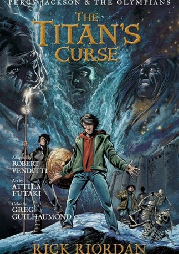 Okładka książki The Titan's Curse: The Graphic Novel