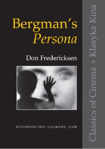 Okładka książki Bergman's Persona