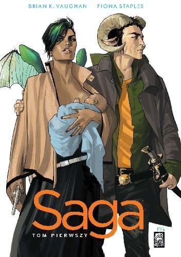 Okładka książki Saga. Tom Pierwszy