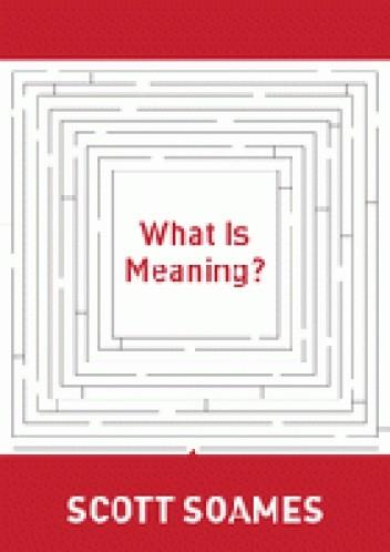 Okładka książki What is meaning?