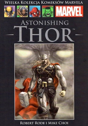 Okładka książki Astonishing Thor