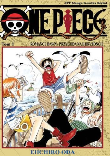 Okładka książki One Piece tom 1. Romance Dawn - przygoda na horyzoncie