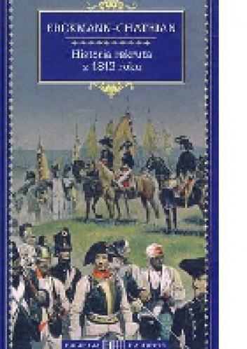 Okładka książki Historia rekruta z 1813 roku