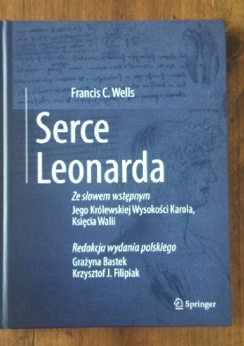 Okładka książki Serce Leonarda