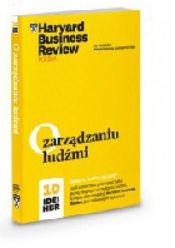Okładka książki O zarządzaniu ludźmi. 10 Idei HBR.
