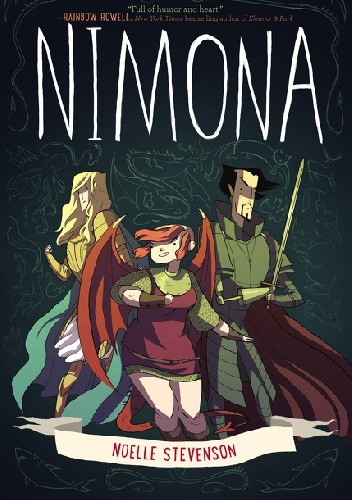 Okładka książki Nimona