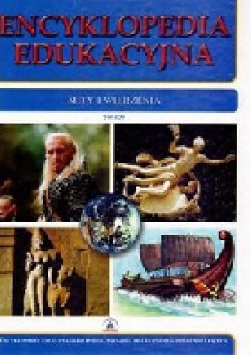 Okładka książki Encyklopedia edukacyjna. Mity i wierzenia