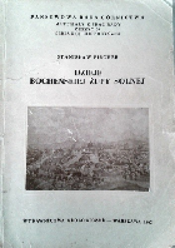 Okładka książki Dzieje bocheńskiej żupy solnej