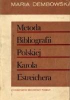 Metoda Bibliografii Polskiej Karola Estreichera