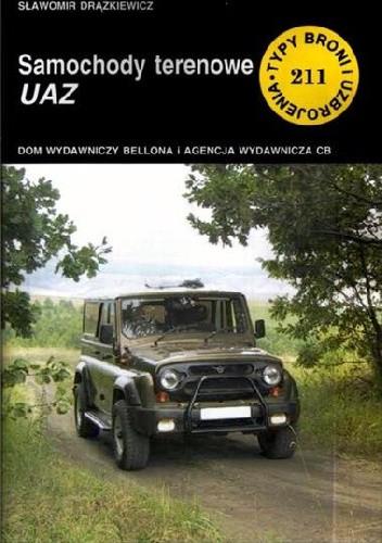 Okładka książki Samochody terenowe UAZ