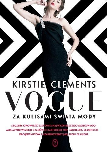 Okładka książki Vogue. Za kulisami świata mody