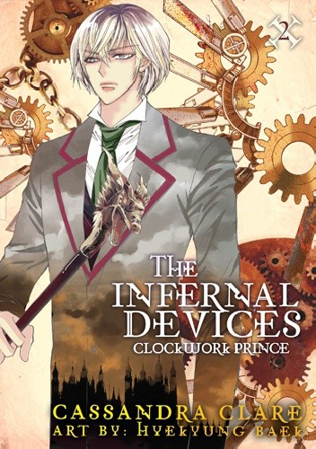 Okładka książki The Infernal Devices: Clockwork Prince Manga