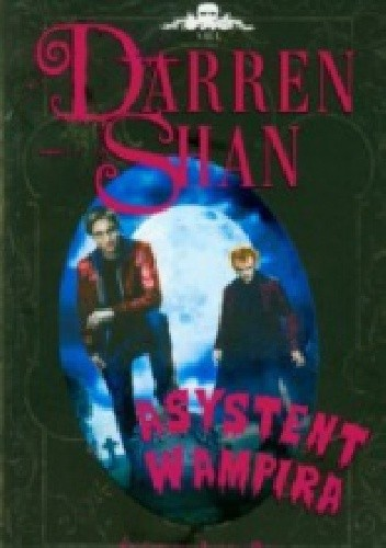 Okładka książki Darren Shan; Asystent Wampira