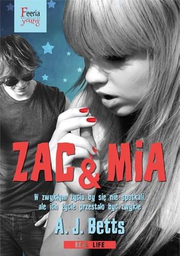 Okładka książki Zac & Mia