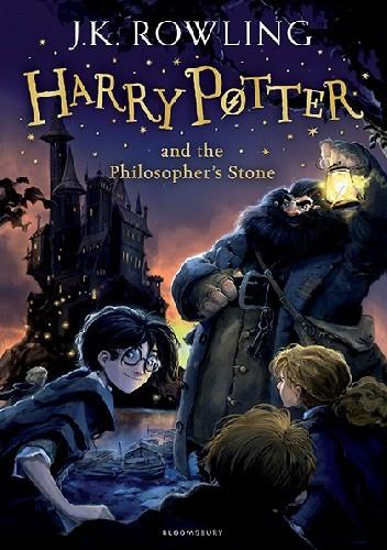 Okładka książki Harry Potter and the Philosopher's Stone