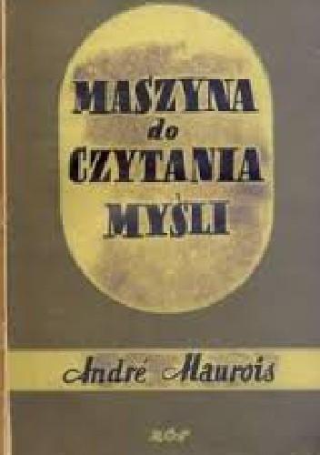 Okładka książki Maszyna do czytania myśli