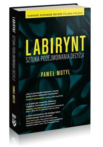 Okładka książki Labirynt. Sztuka podejmowania decyzji.