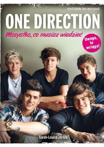 Okładka książki One Direction. Wszystko co musisz wiedzieć