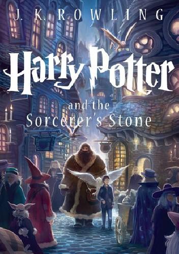 Okładka książki Harry Potter and the Sorcerer's Stone
