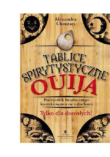 Okładka książki Tablice spirytystyczne Ouija