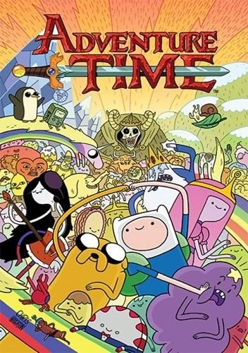 Okładka książki Adventure Time t. 1