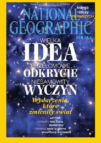 Okładka książki National Geographic 01/2015 (184)