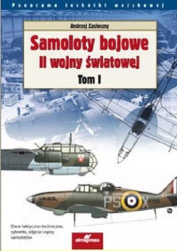 Okładka książki Samoloty bojowe II wojny światowej