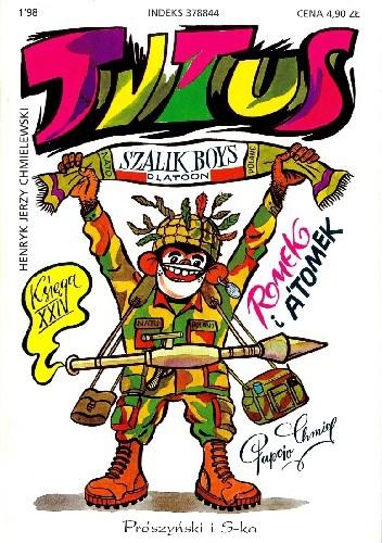 Okładka książki Tytus Romek i A'Tomek. Księga XXIV