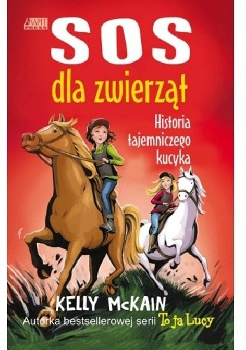Okładka książki SOS dla zwierząt Historia tajemniczego kucyka
