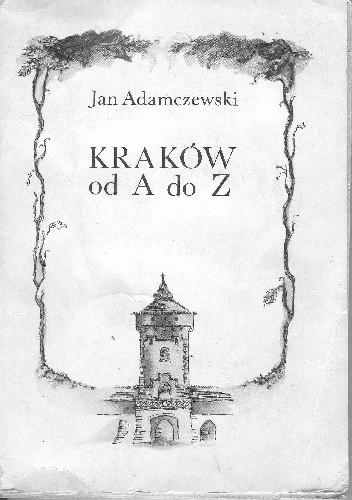 Okładka książki Kraków od A do Z