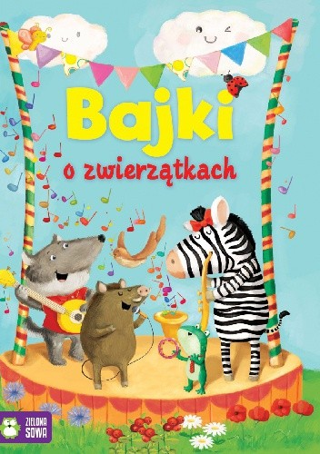 Okładka książki Bajki o zwierzątkach