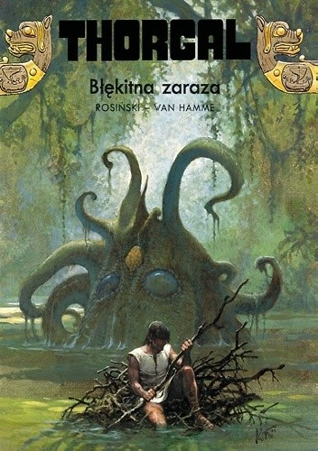 Okładka książki Thorgal: Błękitna Zaraza