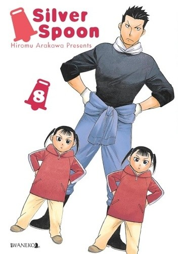 Okładka książki Silver Spoon tom 8