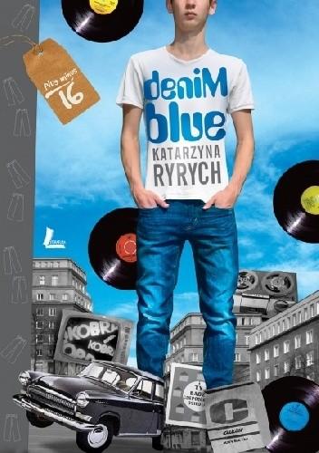 Okładka książki Denim blue