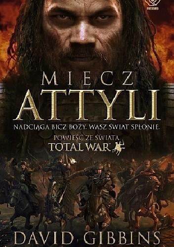 Okładka książki Miecz Attyli