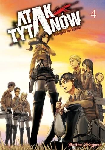 Okładka książki Atak Tytanów tom 4