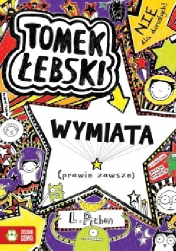 Okładka książki Tomek Łebski wymiata (prawie zawsze)