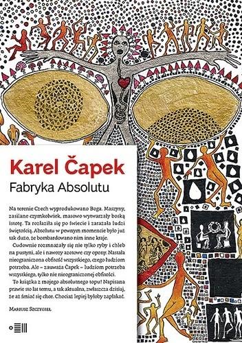 Okładka książki Fabryka Absolutu