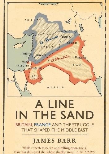 Okładka książki A Line in the Sand