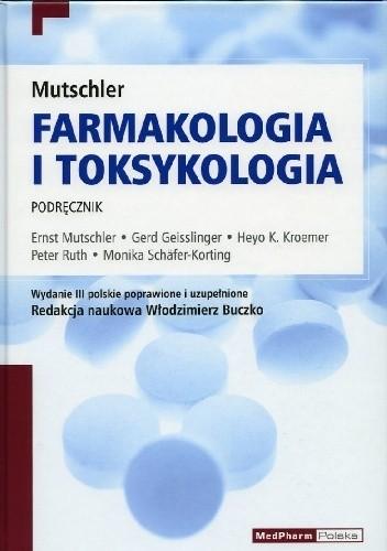 Okładka książki Mutschler. Farmakologia i toksykologia. Podręcznik. Wydanie 3