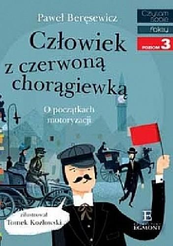 Okładka książki Człowiek z czerwoną chorągiewką