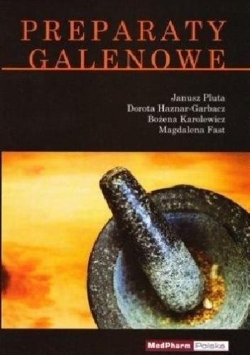 Okładka książki Preparaty Galenowe