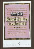 Edukacja i kultura w Europie Zachodniej VI–VIII w.